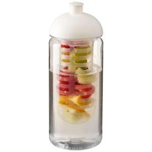 H2O Octave Tritan™ 600 ml bidon en infuser met koepeldeksel